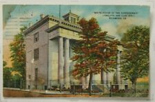 White House Of The Confederacy Postcard 918
