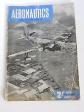 AERONAUTICS  AUGUST 1945  WW2  Good article DE HAVILLAND MOSQUITO MARK XVI