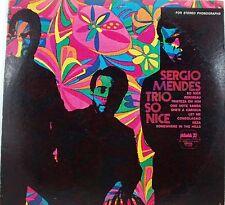 Sergio Mendes Trio  So Nice    LP
