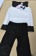 Haoling Fan Black and White Baby costume Size 95 NWT