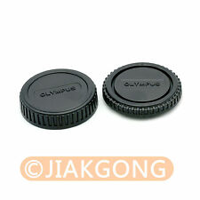 Rear Lens + Camera body Cover cap for Olympus 4/3 Mount