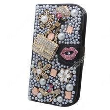 Bling Diamond Flower Case Cover Flip for Nokia Lumia 1320 950 650 640 XL 535 520