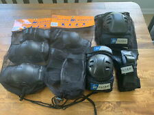 Lot Ultra Wheels L/Xl Ultra Gear Knee Pads, Elbow pads and Wrist Guards New