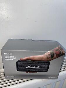 MARSHALL Emberton Portable Wireless Bluetooth Speaker Black -