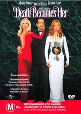 Death Becomes Her NEW DVD (Region 4 Australia) Meryl Streep Bruce WillisGoldie