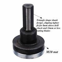 Drill Angle Grinder Mandrel Adapter Disc Holder Kit Spanner Hole Nice M10/16mm
