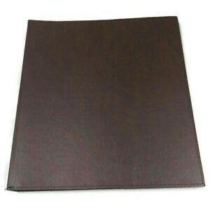 "Bondstar Inc Brown Leatherette Cover Presentation Portfolio Art Craft 16x20"""