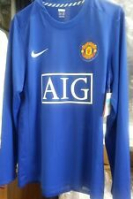 NWT Authentic Nike 2009 Manchester United Player Issue Rooney L/S Jersey dc M