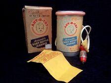 Vintage Aut-O-Tot Auto 12 Volt Baby Bottle Warmer 1950s Has box