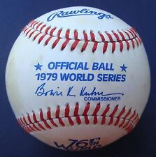 1979 Official Rawlings Haiti World Series Baseball  PITTSBURGH PIRATES