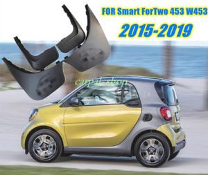 FIT For 2015-2019 Smart ForTwo 453 W453 Splash Guards Mud Guards Mud Flaps 4PCS