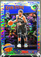 Kyrie Irving 2019-2020 Panini NBA Hoops Tribute Silver Pulsar Brooklyn Nets #290