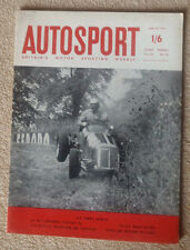 Autosport 30th June 1961 Peugeot 404 test, Belgian GP review,Indianapolis review