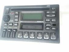 98 00 99 volvo v70 s70 v70xc v40 s40 CD & cassette player radio w code 3533771-1