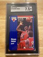 Michael Jordan SGC 7.5 Fleer 1991 #29 Card Collector Chicago INFLATION Hedge! NR