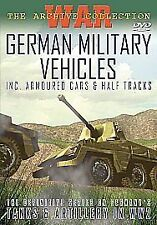German Military Vehicles - Inc. Armoured Cars And Half Tracks [DVD], Very Good D
