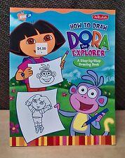 Dora the Explorer How To Draw (NICK JR)