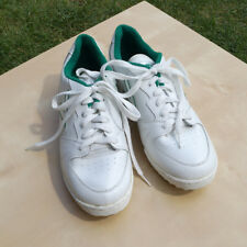 White w Green Mitre Trainers / Sport Shoes / Walking Shoes UK 6 USA 7 EUR 39.5