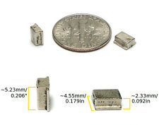 2pc TYCO 440-X2  440-X3! HO Slot Car RARE EARTH TRACTION MAGNET ONLY Factory OEM