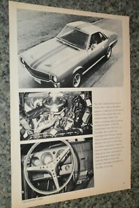 ★★1969 AMC AMX ORIGINAL ADVERTISEMENT PRINT AD 69 390