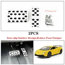 2x Non-Slip Pedal&Pad Brake Foot Cover Treadle Belt Car Automatic Accelerator