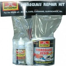 FIBREGLASS  REPAIR KIT FOR AUTOMOTIVE MARINE PANEL BODY KITS 250ml