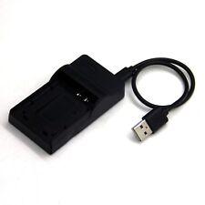 USB Battery Charger for Olympus FE-240 FE-250 FE-280 FE-290 FE-300 FE-320 FE-330