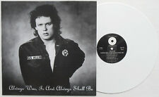 GG Allin - Always Was, Is And Always Shall Be LP WHITE VINYL / B&W SLEEVE Punk