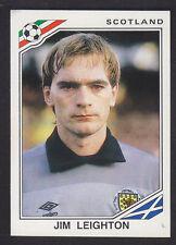 Panini mexico 86 Copa del Mundo - # 330 Jim Leighton-Escocia