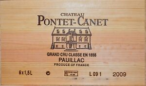 Château Pontet Canet 2009, Grand Cru Classé Magnum - (3 x 100 Punkte Parker!!!)