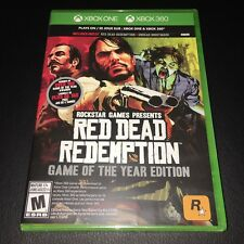 RED DEAD REDEMPTION (Game of the Year Edition) Xbox One/Xbox 360 Brand New Seald