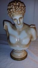 "Antique 9"" German Bust Hermes of Olympia Marked R No.1317 42 WORLDWIDE"