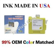 New compatible cartridge for Canon W7200 W8200 BCI-1411 Yellow