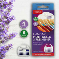 Acana Hanging Moth Killer and Fresheners with Lavender Fragrance Kills Moths