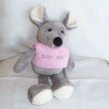 Doudou Souris Babynat Baby Nat' - Tee shirt rose