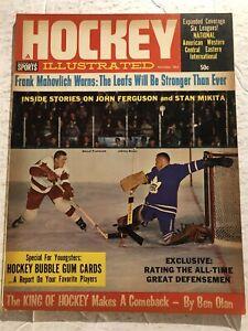 1964 Hockey TORONTO Leafs JOHNNY BOWER RED Wings MARCEL PRONOVOST Mahovlich