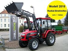 NEU!! 50PS Allrad Traktor Schlepper FOTON TB504 eco Kabine Frontlader Druckluft