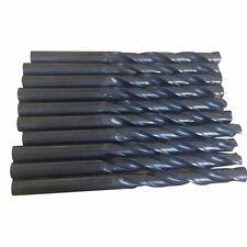 10Pc 2mm HSS Micro Mini Steel Twist Drill Bit Straight Shank Shaft Drill Tool