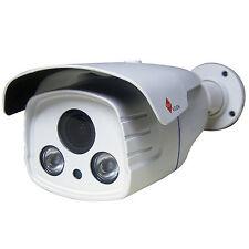 HD 2MP TVI 1080P 8 x Zoom Varifocal Bullet White CCTV Security Camera