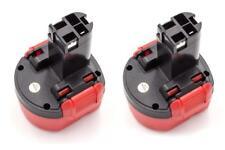 2x Batteria 1500mAh per Bosch GSR 9.6-1, GSR 9.6-2, GSR 9.6V, PSR 960