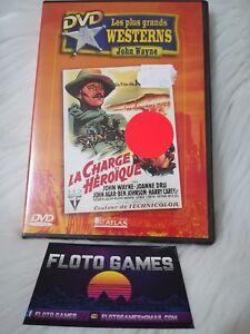 DVD ZONE 2 FR : La Charge Héroique - John Wayne - Anciens Films - Floto Games