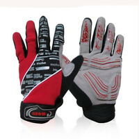 PF MOKE 1 pair Gloves Bicycle Full Finger Gloves Motorcycle Cycling Sport Winter