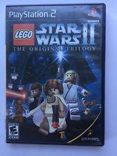 ~TESTED Fair~ Playstation 2 PS2 Lego Starwars II The Original Trilogy Canada
