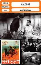 FICHE CINEMA : MALDONE - Dullin,Annabella,Grémillon 1928 Misdeal