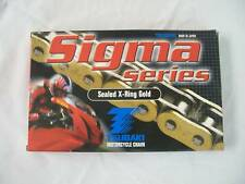 TSUBAKI Sigma x Anillo Oro Cadena 530 x 76 Links