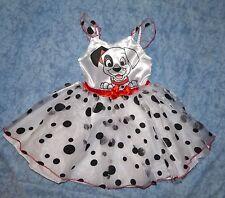 Disney KOSTÜM Ballerina Prinzessin 101 DALMATINER Gr. S -98-104-110-116