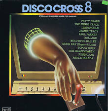 DISCO CROSS 8 - compilation - LP F1team ITALY mint