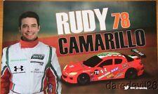 2013 Rudy Camarillo Racers Edge Mazda RX-8 GT Rolex 24 Grand Am postcard