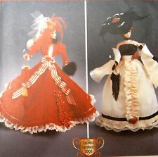 "SIMPLICITY PATTERN 5702 OOP DIVA DOLL COSTUMES CLOTHES FOR 11.5"" FASHION DOLLS"