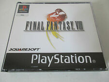 FINAL FANTASY VIII (8) - SONY PLAYSTATION - JEU PS1 PSX PAL en FRANCAIS